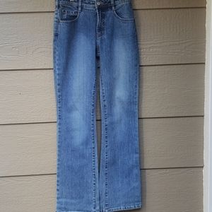 Express Jeans stretch FIT & Flare Long Tall